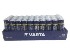 Varta Industrial Batterien LR6/AA Mignon Typ 4006 | 1,5 Volt  2950mAh 40 Stk.