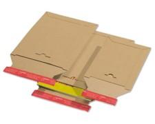 Karton-Versandtasche TP320, 215x270mm, SK mit Aufreißhilfe, Vollpappe, A5+/B5+