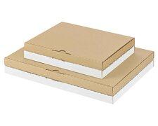 Maxibriefkarton und Warensendung Versandkarton 252x186x24mm für Din A5/B5, braun