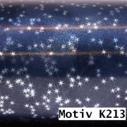 Weihnachtsgeschenkpapier Weihnachtspapier  100 cm x 100 m | Motiv K213 Sterne