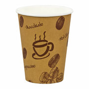 Kaffeebecher Premium,  Coffee to go, Pappe beschichtet, 8oz., 200 ml,  50 Stk.