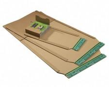 Universalverpackung PP B02.12 braun, 328x255x 1-80mm, für C4, SK-Verschluss