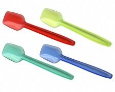 Eislöffel bunt 90mm, lebensmittelecht, sehr stabil, farbig sortiert,  100 Stk.