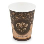 Kaffeebecher L 'Coffee To Go' Latte Macchiato, Melange 350ml 420ml,  50 Stk.