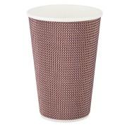 Premium Doppelwand Kaffeebecher Coffee to go beschichtet 400ml 510ml,  25 Stk.