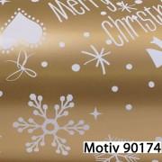 Weihnachtsgeschenkpapier Weihnachtspapier  70 cm x 200 m | Motiv 90174