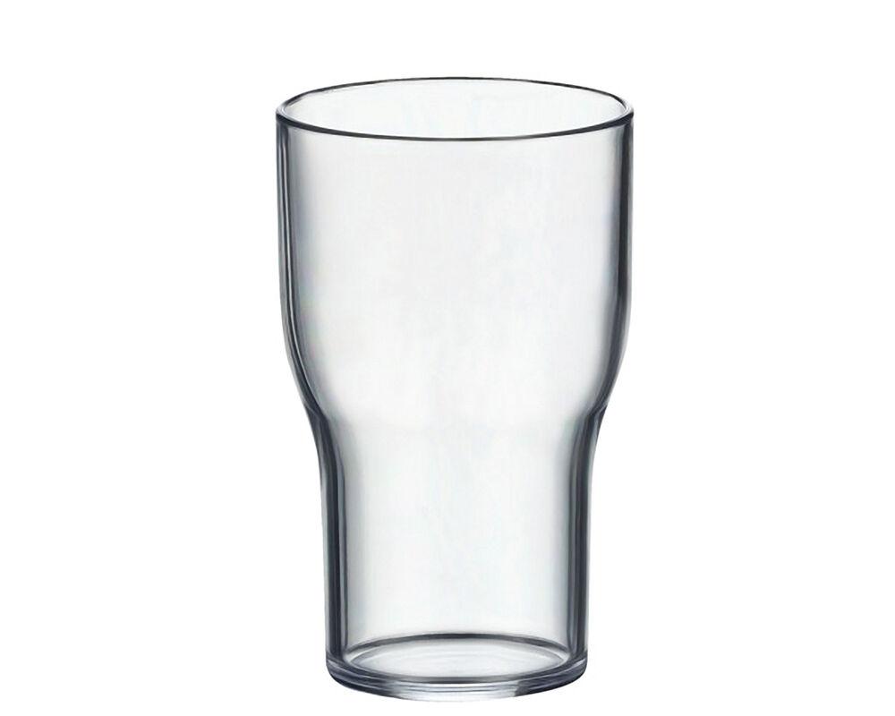 Mehrweg Sherrybecher Sherryglas 100 ml aus SAN glasklar mit Füllstrich, 5 Stk.